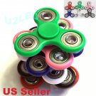 Tri Fidget Hand Spinner CERAMIC BALL DESK TOY EDC STOCKING STUFFER KIDS OR ADULT