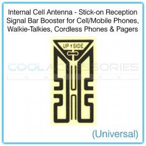 Internal Universal Cell Antenna Stick-on Reception Signal Bar Booster