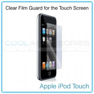 Clear Protective Film Guard for the Touch Screen of the Apple iPod Touch
