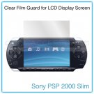 Clear Protective Film Guard for the LCD Display Screen of the Sony PSP 2000 Slim