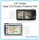 "2.9"" Inches Universal Clear LCD Screen Protector Film Guard for Digital Cameras, GPS, etc."