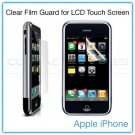 1st Generation Apple iPhone 4GB/8GB/16GB Clear LCD Touch Screen Protector Film