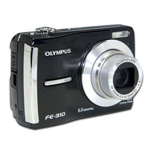 Olympus FE-310 8.0 Megapixels Digital Camera Black