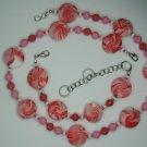 Designer created Set red / white beads, U add the blue