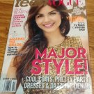 Victoria Justice October Teen Vogue 2012 In Plastic