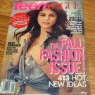 Selena Gomez Teen Vogue September 2012 In Plastic