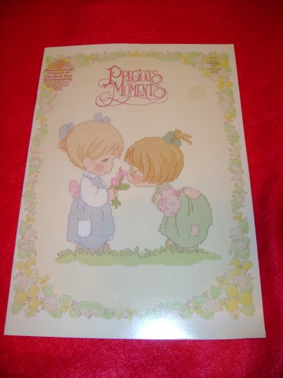 Precious Moments Good Friends are Forever Cross Stitch Design Booklet