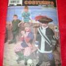 Simplicity PETER PAN Halloween Costumes in Childrens Sizes Size A Small - Large