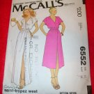 McCall's Misses and Junior Petite Wrap Dress Size 12