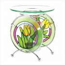 Tulip Stained Glass Oil Warmer