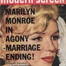 Marilyn Monroe Modern Screen Magazine Dec 1960