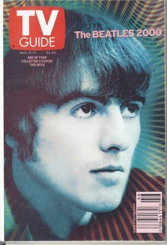 George Harrison Beatles 2000 TV Guide Nov 11-17 2000