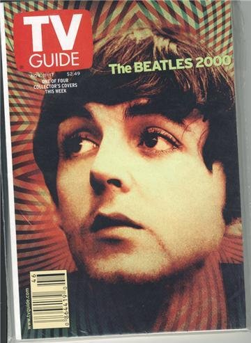 Paul Beatles 2000 TV Guide Nov 11-17 2000