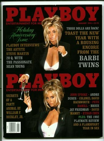 Playboy January 1993