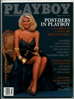 Playboy March 1992   Anna Nicole