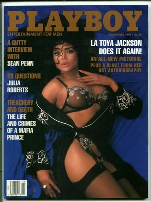 Playboy November 1991   LaToya Jackson