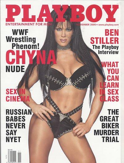 Playboy November  2000   WWF  CHYNA