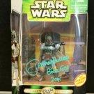 Bobba Fett  Star Wars 300th figure AUTOGRAPHED