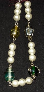 Decrotive Glass Bracelet