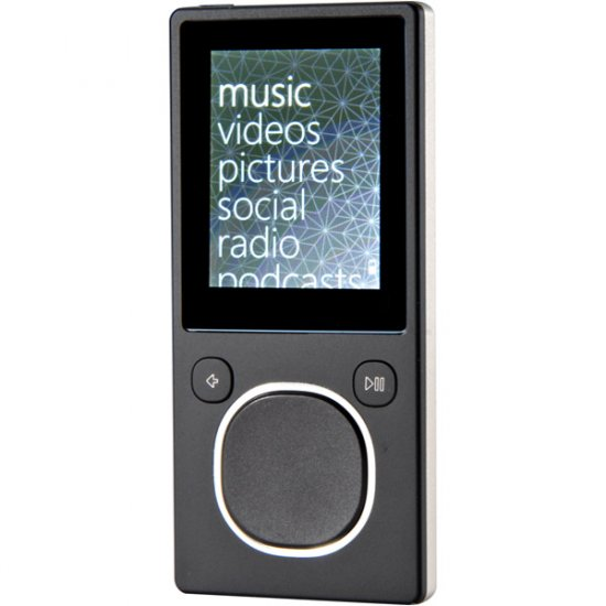 Microsoft 8GB Zune Player Black N59777