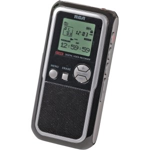 RCA 512MB Digital Voice Recorder With MP3 Encoding RP5130