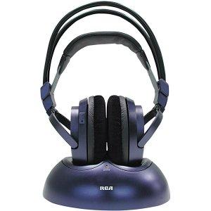 RCA 900MHz Wireless Stereo Headphones WHP175