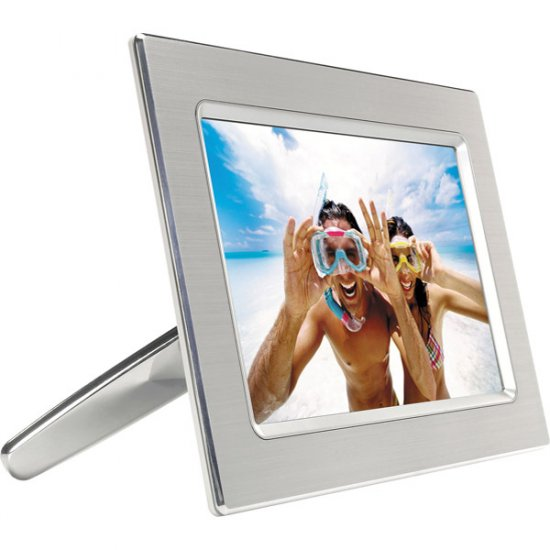 "Philips 9"" Digital Metal Photo Frame 9FF2CME"