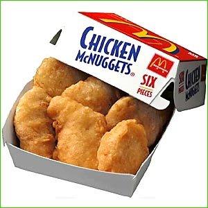 Chicken McNugget Value Meal - Medium