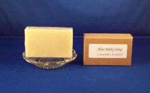 Natural Organic Aloe Bar Soap 3.5 oz.