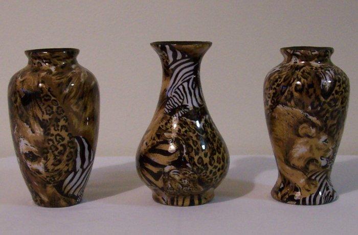 Jungle Vases