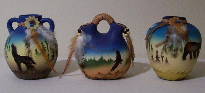 Mini Western Ceramic Vases