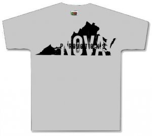 Virginia Gray Shirt Size YOUTH MEDIUM