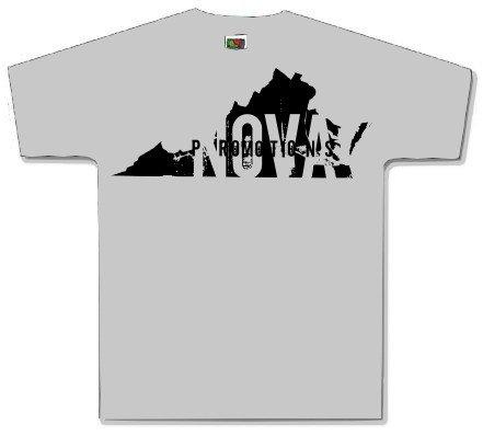 Virginia Gray Shirt Size X LARGE