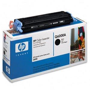 HP Q6000A, Genuine Black Toner Cartridge Color LJ 1600/ 2600 Series/ CM1015 MFP/ CM1017 MFP
