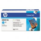 HP CE251A, Genuine Cyan Toner Cartridge Color LJ CM3530 MFP/ CP3525