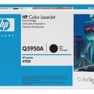 HP Q5950A, Genuine 643A Color LJ 4700 Series Color Black Toner Cartridge