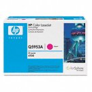 HP Q5953A, Genuine 643A Color LJ 4700 Series Magenta Toner Cartridge