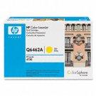 HP Q6462A, Genuine 644A Color LJ 4730/ CM4730 Series Yelllow Toner Cartridge