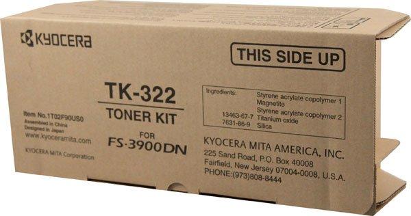 Kyocera TK322, Genuine FS-3900DN Toner Cartridge