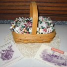 1996 Longaberger Horizon of Hope Basket Combo Set  Breast Cancer Awareness