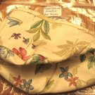 NEW Longaberger Coaster Basket LINER ONLY Botanical Fields + FREE SHIPPING