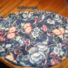Longaberger Wildflower Basket LINER ONLY Cottage Garden Blue Floral + FREE SHIPPING