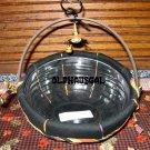 2006 Longaberger Autumn Treats Small Spider Basket Set with Spider Tie-On Halloween