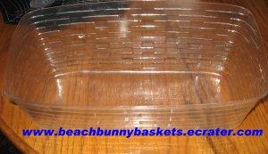 NEW Longaberger Vanity Basket PLASTIC PROTECTOR ONLY