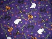 NEW Longaberger Halloween Party FABRIC 5 Yards Uncut