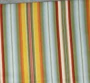 NEW Longaberger Sunflower STripe FABRIC 5 Yards Uncut