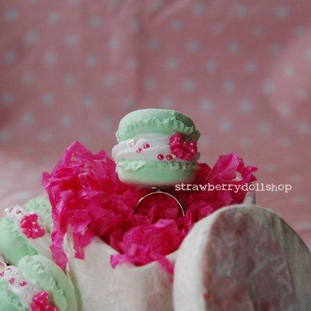 Macaron ring (A)