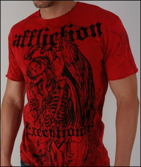 Affliction Bernard Hopkins Red T-Shirt