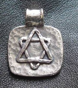 Pewter Star of David