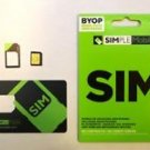Simple Mobile MICRO Sim Card